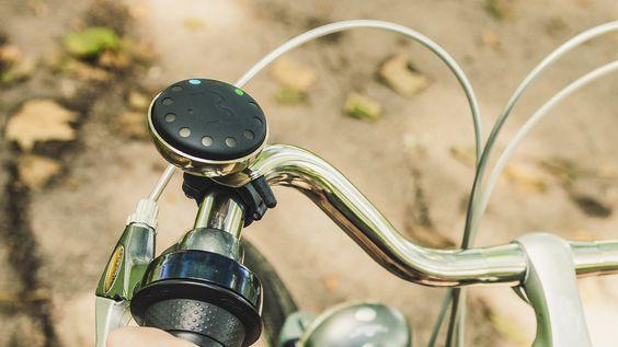 Blubel, le GPS simplifié pour vos itinéraires à vélo. Une nouvelle façon de s'orienter, plus sûre ;)