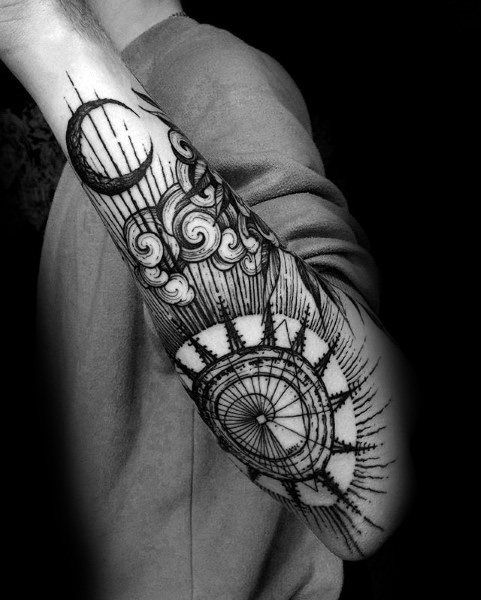 Top 51 Gothic Tattoo Ideas 2020 Inspiration Guide Tattoos Tattoos For Guys Cool Forearm Tattoos