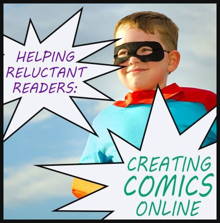 Just as comics encourage reluctant readers to read, online comic editors can encourage reluctant writers to write! Our #LearningToolkit blog shares resources. Click for more.