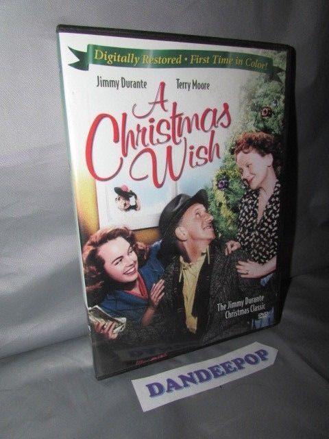A Christmas Wish Dvd 2008 Achristmaswish Movie Dvd Dandeepop Find Me At Dandeepop Com Christmas Wishes Ebay Dvd