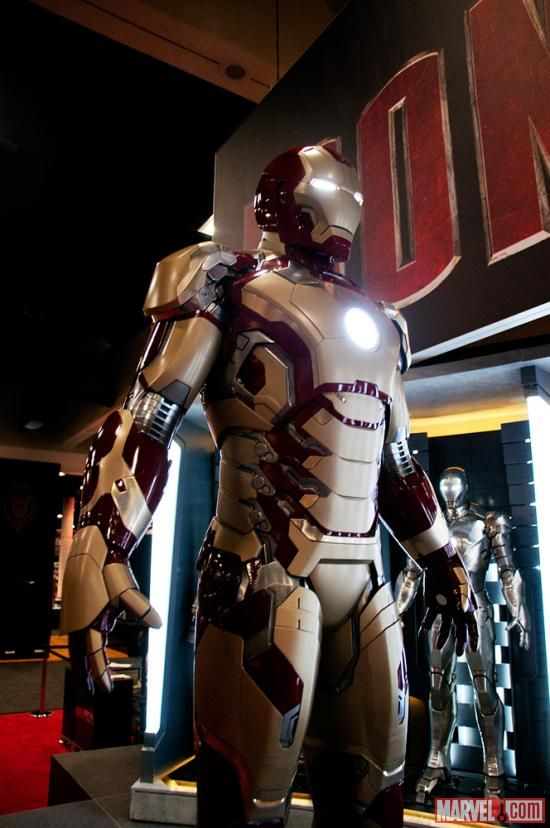 Marvel Unveils 'Iron Man 3' Armor At Its Comic-Con Booth