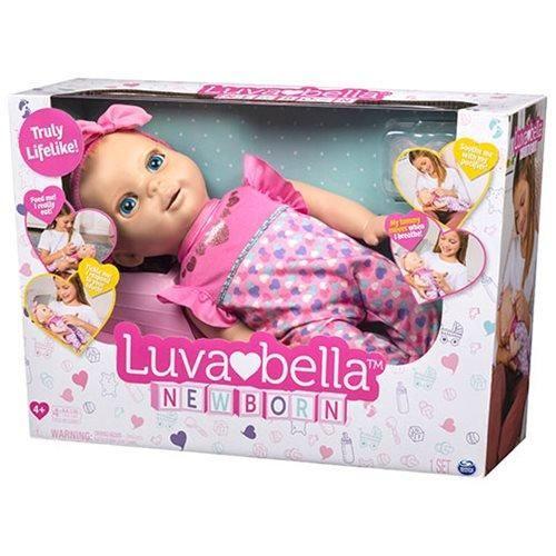 Luvabella Blonde Newborn Doll Interactive Baby Dolls Baby Dolls Newborn