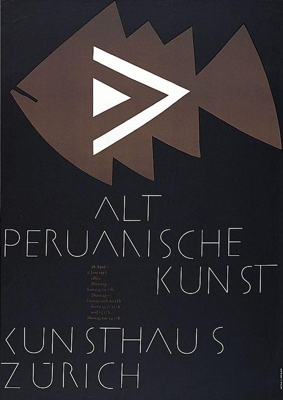 Zryd Werner Alt-Peruanische Kunst Kunsthaus Zürich Jahr: 1957