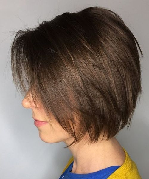 Short Silky Bob Haircuts 2018 For Women To Get An Elegant Look Hair And Comb Bob Hairstyles For Fine Hair Hair Styles Short Hair With Layers
