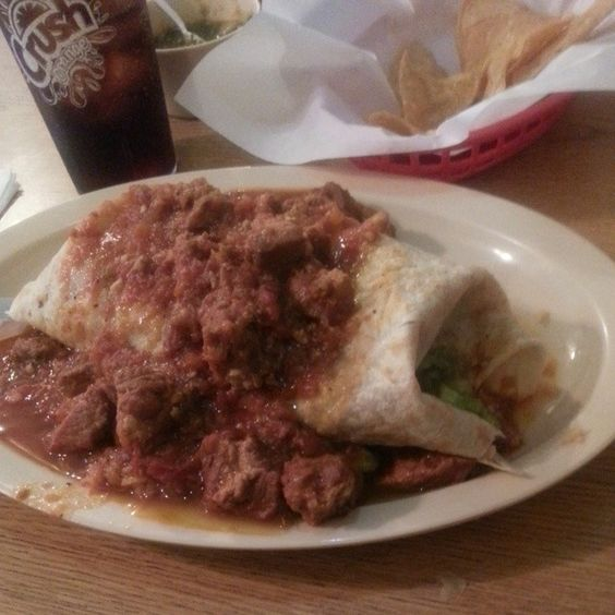 Check Out El Tepeyac in Los Angeles, CA as seen on Man vs Food and featured on TVFoodMaps. Known for Goliath Manuel's Special and machaca burritos