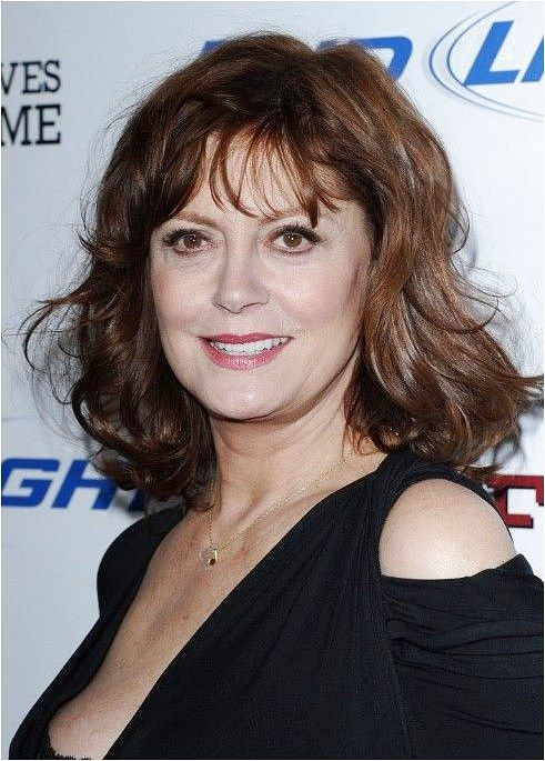 Medium Hair Styles For Women Over 40 Susan Sarandon Wavy Hairstyle For Women Over 60s Medium Hair Styles Medium Hair Styles For Women Wavy Hairstyles Medium