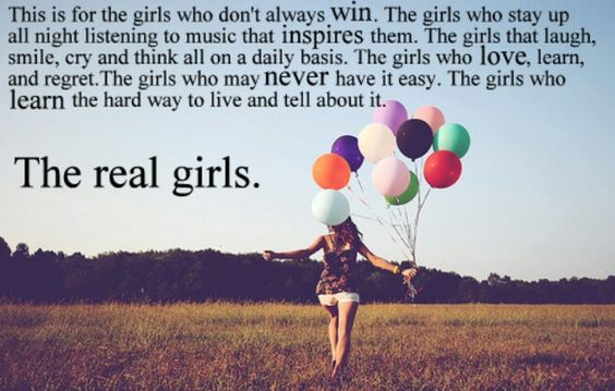 The real girls