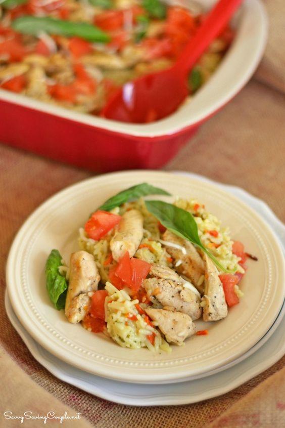 Knorr Sides Inspired Creamy Bruschetta Chicken Recipe