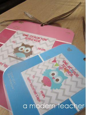 Free Teacher Valentine {for your students} www.amodernteacher.com  #valentines #free printable