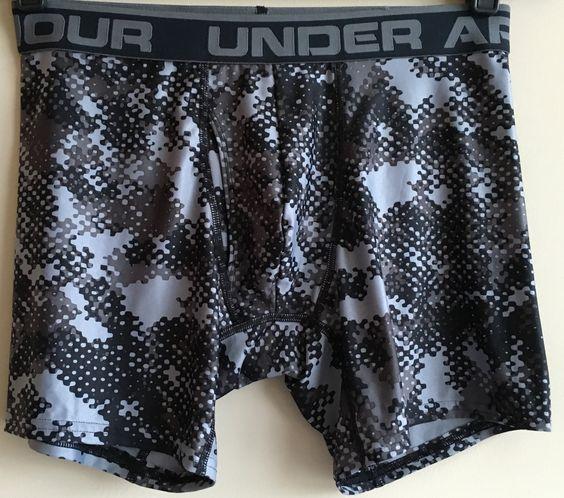 "Under Armour ""The Original 6"" Seasonal Prints Boxer Briefs"