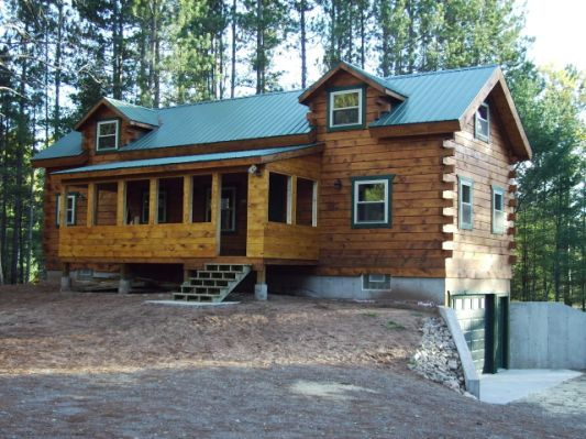 Star Log Cabins Wisconsin