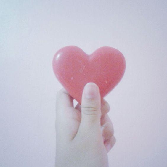 heart  coração  pink
