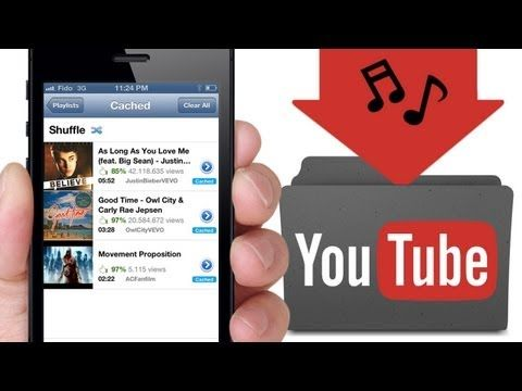 how to put music on ipod from youtube