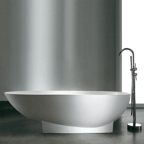 Bañera Solid Surface MIAMI 182 cm http://www.entornobano.com/collections/baneras-solid-surface/products/banera-solid-surface-miami-182-cm