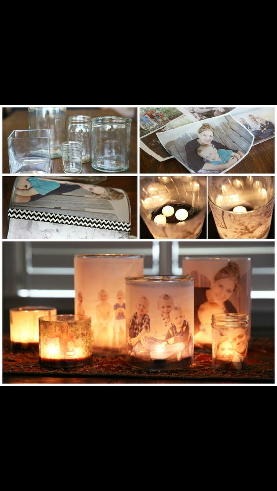 Picture candles