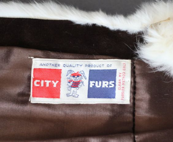 Stunning White Vintage 50s 60s Rabbit Fur Long Princess Coat -- Rockabilly Pinup Bohemian Collector 1950s 1960s --  The Mermaid Tattoo