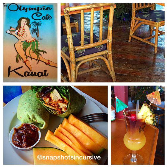 Olympic Café in Kapaa, Kauai