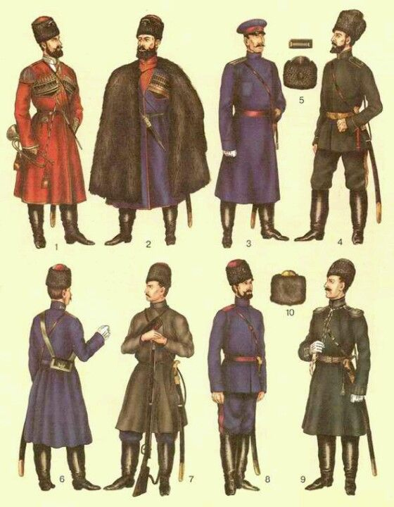 Russian Military Uniforms 82