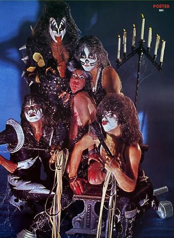 K 11 Poster Kiss Posters 1976 | Kiss Poster 1976-7