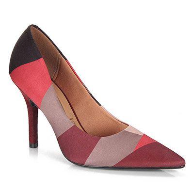 Sapato Scarpin Feminino Vizzano - Estampado
