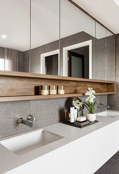 Emke Badspiegel Neues Design Badezimmerspiegel Badspiegel Toilette Design