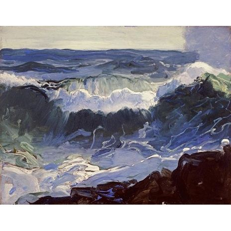 Comber by George Bellows Color Study Art Print