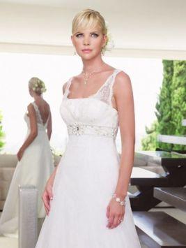 Casablanca 1937 Ivory 12 Wedding Dress $545