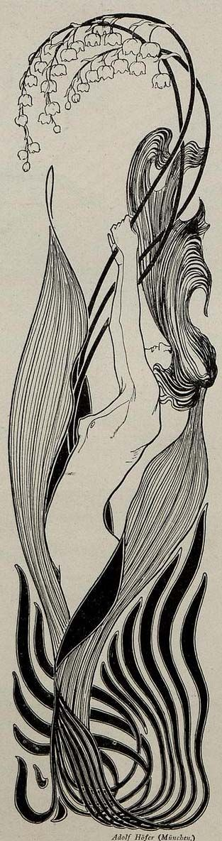 Jugend, 1897Munich illustrated weekly journal of art and lifeG. Hirth's publishing house in Munich and Leipzig  Illustration by Adolf Höfer: