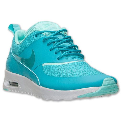 Women\u0026#39;s Nike Air Max Thea Running Shoes | Finish Line | Dusty Cactus/Hyper Turquoise