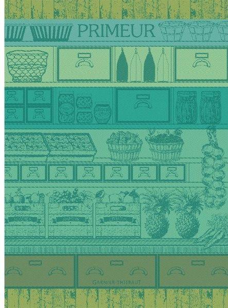 Garnier-Thiebaut Primeur Vert Green Kitchen Towel – la Maison de Linge