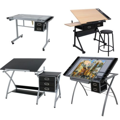 Drawing Boards And Tables 183083 Drafting Table Station Glass Top Drawing Desk Craft Station Artist Multi Type Buy I Drawing Desk Drafting Table Craft Desk
