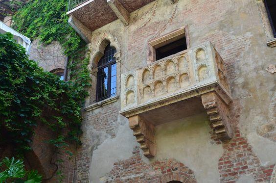 Juliet's Balcony - Verona Italy
