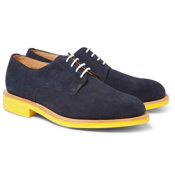 Dress shoes yellow sole
