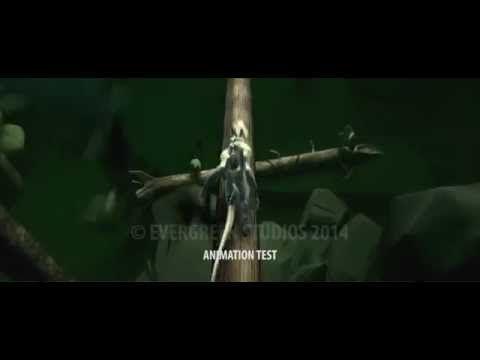 Evergreen Studios - Test Animation - Nimitz - Honor Harrington - YouTube