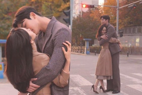 Watch: Won Jin Ah And SF9's Rowoon Work Together To Achieve The Perfect Kiss During Drama Poster Shoot