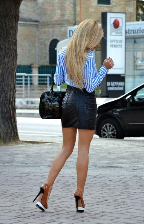 leather skirt - sexy | verleiding (en de -bijna- onmogelijkheid ...
