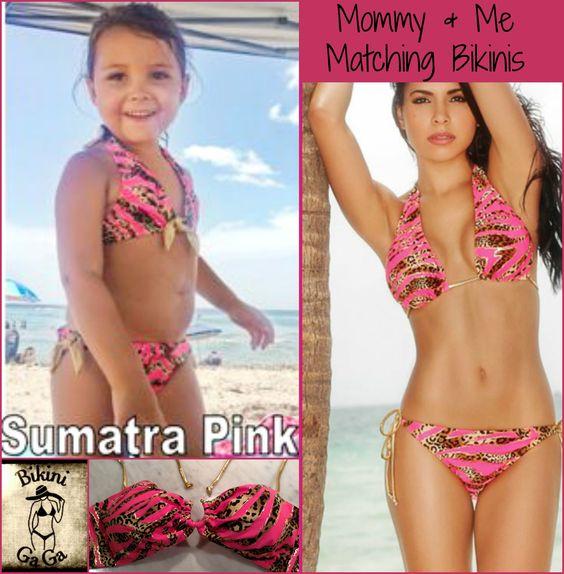 Bikinis for baby too!