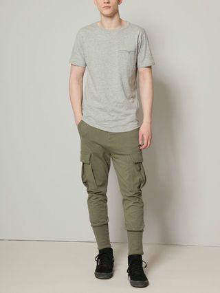 Drop Crotch Cargo Pants by Yoko Devereaux at Gilt