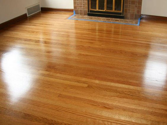 Red Oak Hardwood Natural Swedish Finish Refinished 15