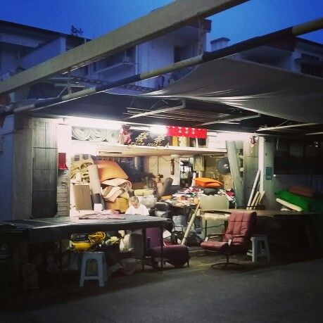Tiong Bahru at night