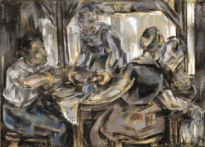 "Maria Blanchard (1881 - 1932) ""Repas"""
