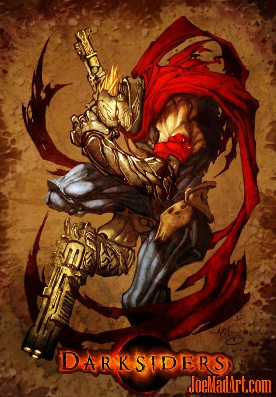 Darksiders Strife First Concept Art Concept Art Art Darksiders Horsemen