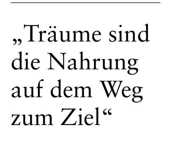 Wunsch(Traum).