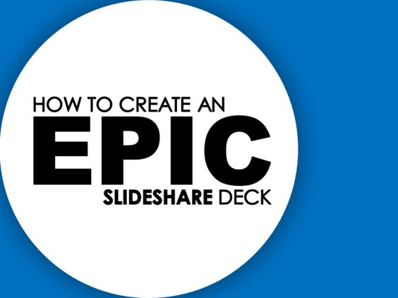 How To Create An Epic Slideshare Deck | The o'jays, Walking and ...