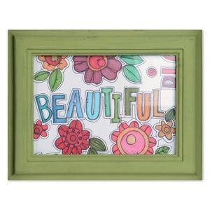 Beautiful Flowers Frame   Stamp it, cut it, frame it! There's no end to the things you can make with the Homegrown & Handmade die-cutting and stamping collection for Sizzix.  Artist: Stephanie Ackerman