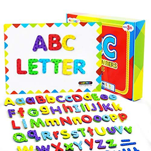 Magtimes Magnetic Letters And Numbers Fun Alphabet Kit F Https Www Amazon Com Dp B07f31m1xz Ref Cm Sw R Pi Dp Abc For Kids Kits For Kids Magnetic Letters