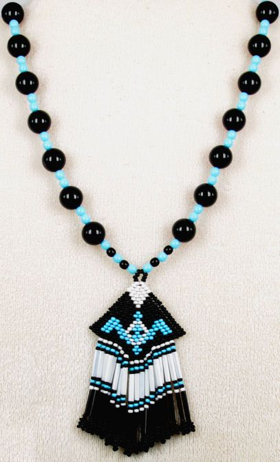 Cherokee Indian and Styled Beaded Necklaces Page 2