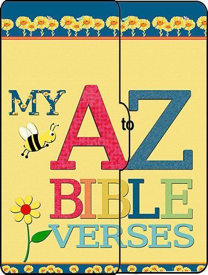 ABC Scripture Tags Scrap-Lapbook & Alphabet Bible Clipart for ...
