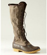 In love with this boot from LLBean, in the navy canvas.