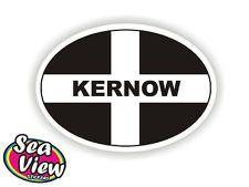 Comwall Design Decals : Kernow Cornwall Oval Sticker Cornish Stickers St Piran Flag Kernow Car ...